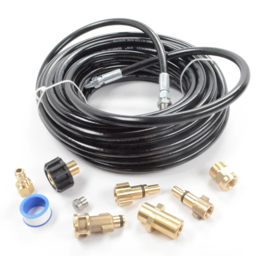 "Pressure Parts 8102.1670.00 Sewer Line and Drain Jetter Kit, 3/16"" x 50' Hose wi <br/> Authorized Pressure Parts Dealer 