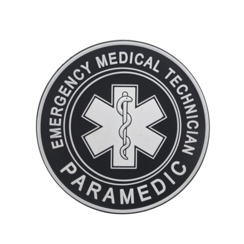 Jtg Medic Cross Paramedic 3D Tactical Army Morale Pvc Rubber Hook Patch