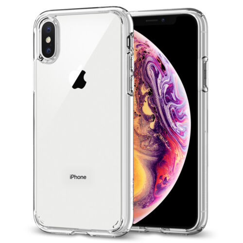 iPhone X/XS, XS Max, XR Case Spigen® [Ultra Hybrid] Protective Clear Cover