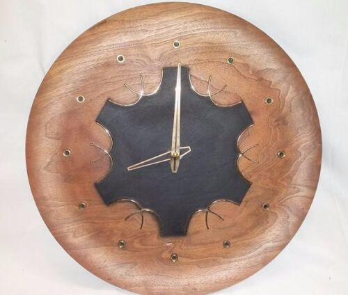 Mid Century Wall Clock Antiques Us