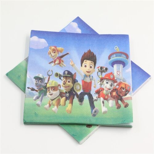 1x Paw Patrol Temporary TATTOO Party Supplies Dog Chase Skype Lolly Loot Bag