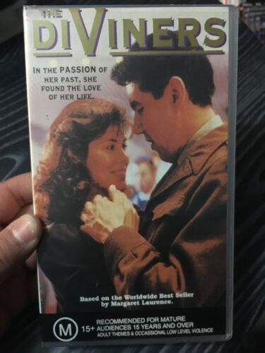 The Diviners VHS TAPE (1993 Canadian drama tv movie) * rare *