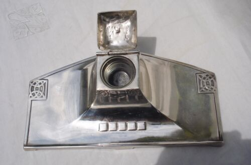 ANTIQUE INKWELL WMF SILVER PLATED