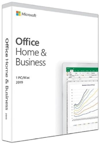 Microsoft Office Home and Business 2019 1PC/Mac English T5D-03251 No Disc Retail