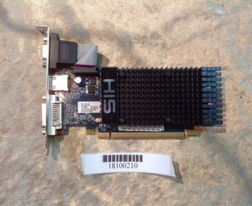 HIS graphics card SL1-27-D SL1G0700 HDMI 512MB