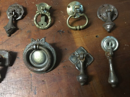 Antique Drawer Pulls,Victorian,Art Deco,Art Nouveau,Edwardian 100% Original Cond