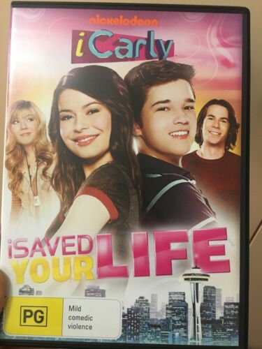 iCarly -  iSaved Your Life region 4 DVD (Nickelodeon / kids)