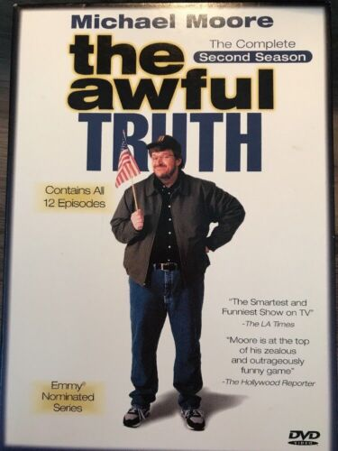 The Awful Truth - The Complete Second Season 2 DVD 2002 - mmoetwil@hotmail.com