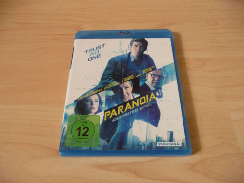 PARANOIA - Trust no One - NEW Blu-ray Disc - FREE POST- mmoetwil@hotmail.com