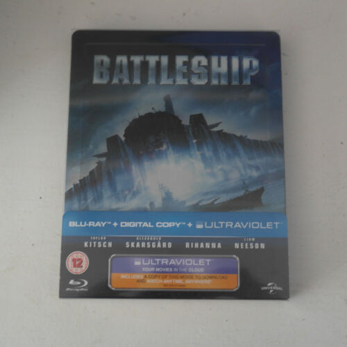 BATTLESHIP Limited Edition Steel Box NEW Blu-ray FREE POST- mmoetwil@hotmail.com