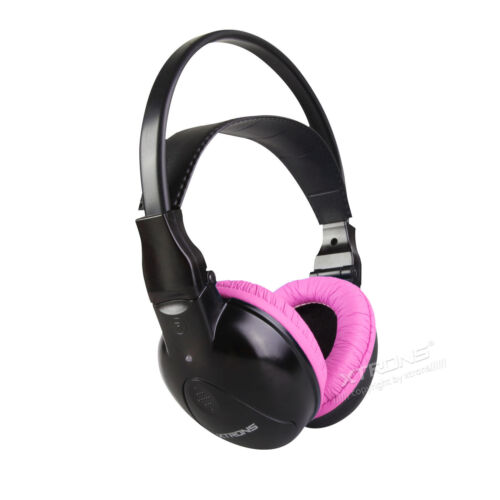 Infrared Wireless IR Headphone Dual Channel 2 Channel Car DVD Player Kid Headset