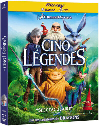 Les Cinq Légendes - NEW - Blu-ray + DVD - FREE Postage - mmoetwil@hotmail.com