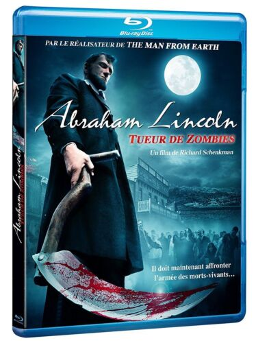 ABRAHAM LINCOLN Tueur de Zombies  NEW Blu-ray FREE Postage mmoetwil@hotmail.com