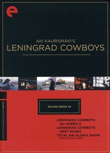 LENINGRAD COWBOYS Aki Kaurismakis - NEW DVD - FREE Post - mmoetwil@hotmail.com