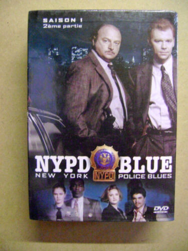 NYPD BLUE  Saison 1 Partie 2 NEW Coffret 3 DVD FREE Post - mmoetwil@hotmail.com