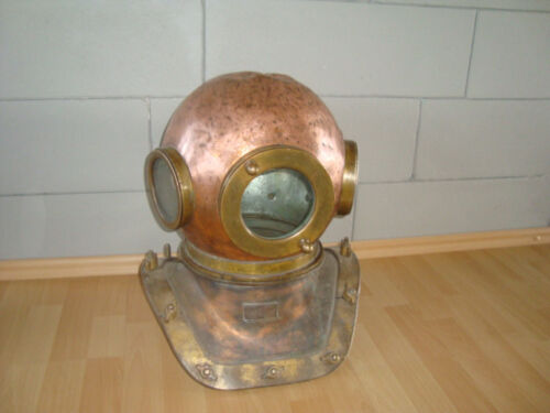 Rare Original Soviet russian 12-bolt Diving Helmet  made in USSR/ 1975