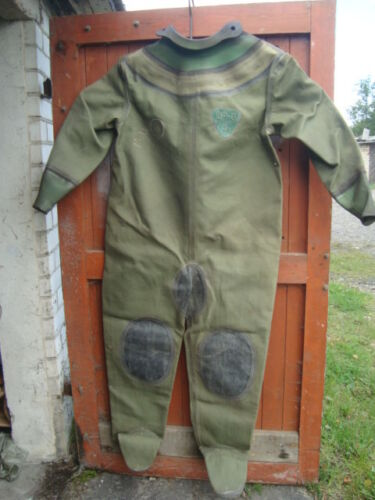 Diving suit for russian 3-bolt diving helmet NOT USED