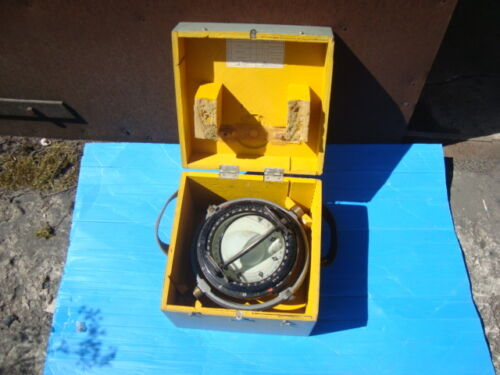 Marine Magnetic Brass Compass 127mm Binnacle CCCP
