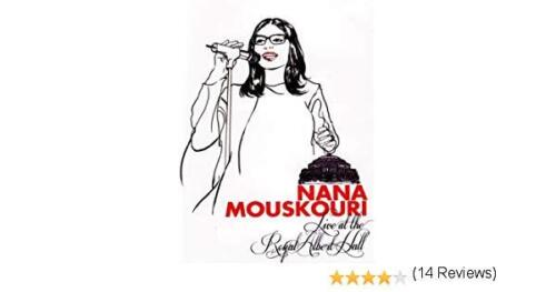 NANA MOUSKOURI Live at the Royal Albert Hall DVD FREE POST- mmoetwil@hotmail.com