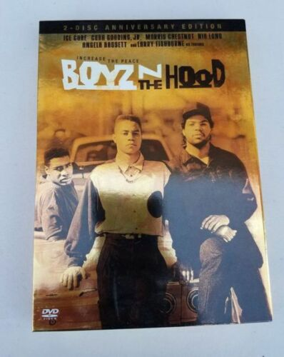 BOYZ N THE HOOD - Increase The Peace - 2 DVD - FREE POST - mmoetwil@hotmail.com