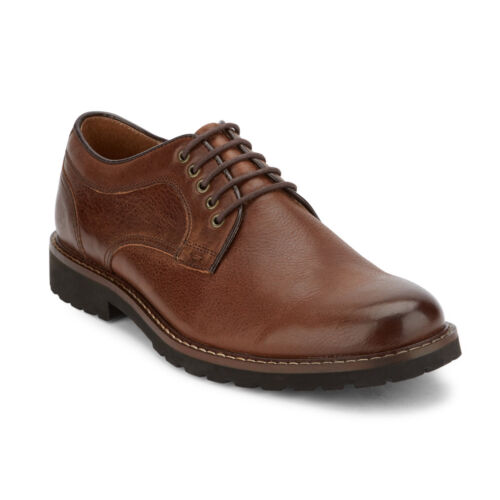Dockers Mens Baldwin Genuine Leather Rugged Dress Casual Lace-up Oxford Shoe