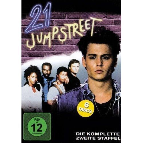 21 JUMP STREET Johnny Depp Season 2 NEW 6 DVD Box FREEPost mmoetwil@hotmail.com
