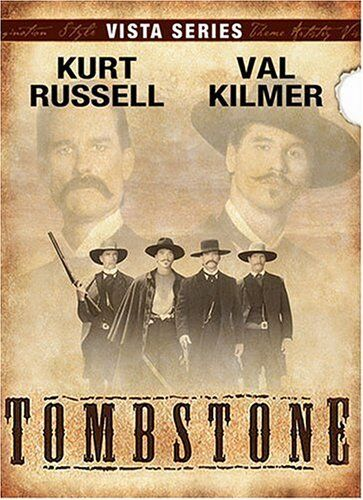 TOMBSTONE Kurt Russell Val Kilmer -New DVD Box FREE Post - mmoetwil@hotmail.com