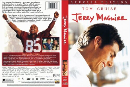JERRY MAGUIRE Tom Cruise Special Edition NEW 2DVD FREEPost mmoetwil@hotmail.com