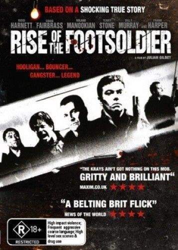 Rise Of The Footsoldier (DVD) Hooligan Bouncer GangsterNEW/SEALED