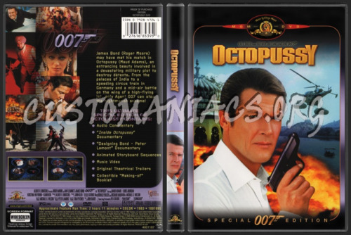 OCTOPUSSY James Bond 007 Special Edition NEW  DVD FREE POST mmoetwil@hotmail.com