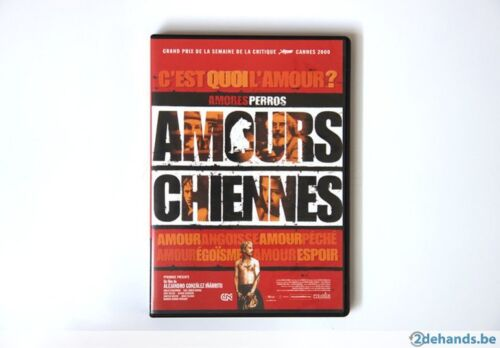 AMOURS CHIENNES Oscar Film Etranger 2001  NEW DVD FREE POST mmoetwil@hotmail.com