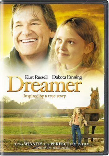 DREAMER with Kurt Russell Dakota Fanning  NEW DVD FREE POST mmoetwil@hotmail.com