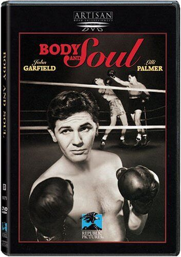 BODY and SOUL John Garfield Robert Rossen NEW DVD FREE POST mmoetwil@hotmail.com