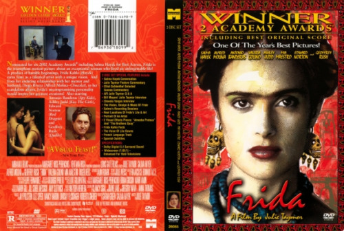 FRIDA Salma Hayek Winner 2 Academy Awards NEW DVD FREE POST mmoetwil@hotmail.com