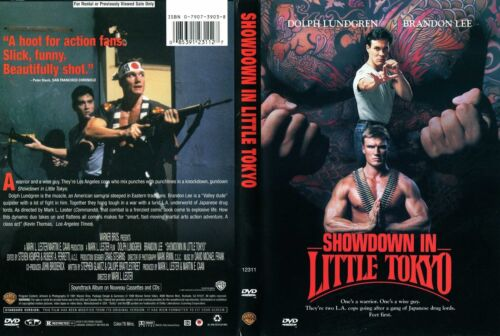 SHOWDOWN IN LITTLE TOKYO with Brandon Lee NEW DVD FREE POST mmoetwil@hotmail.com