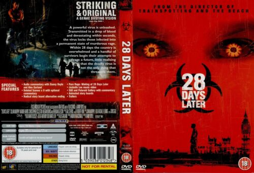 28 DAYS LATER - Trainspotting and The Beach NEWDVD FREEPOST mmoetwil@hotmail.com