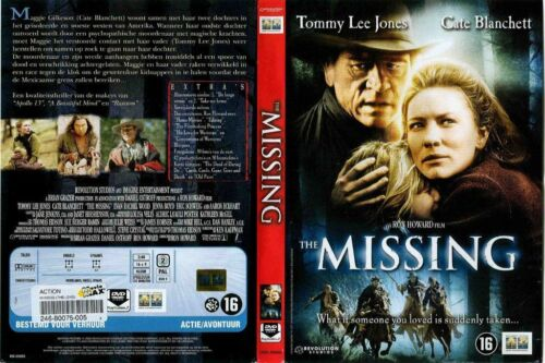 THE MISSING Tommy Lee Jones Wide Edition 2NEW DVD FREE POST mmoetwil@hotmail.com