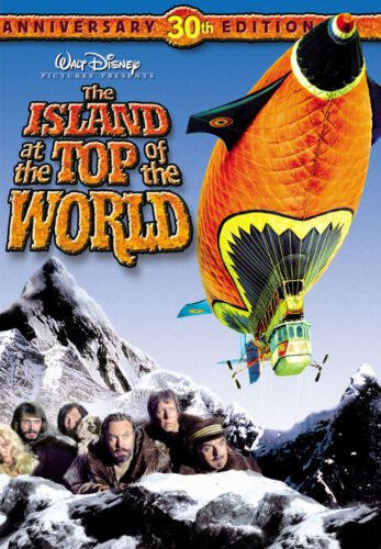 The ISLAND at the TOP of the WORLD Disney NEW DVD FREE POST mmoetwil@hotmail.com