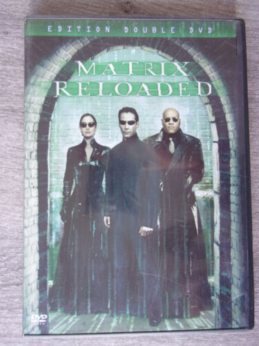 MATRIX RELOADED  - Widescreen Edition - 2 NEW DVD FREE POST mmoetwil@hotmail.com