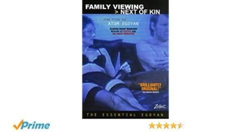 FAMILY VIEWING / NEXT OF KIN Atom Egoyan  NEW DVD FREE POST mmoetwil@hotmail.com