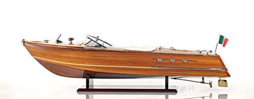 """Riva Ariston Exclusive Edition Speed Boat 35"""" Wood Model Ship Assembled"""