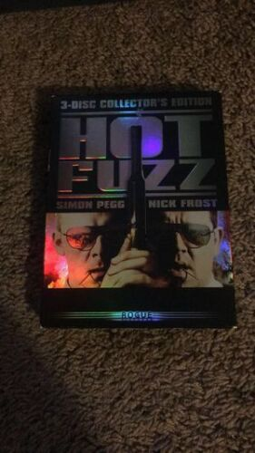 HOT FUZZ Collector Edition Rogue  3 DVD NEW Sealed FREEPOST mmoetwil@hotmail.com