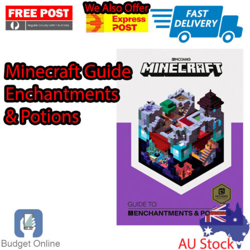 Official Minecraft Guide to Enchantments and Potions Hardcover Strategy Guide