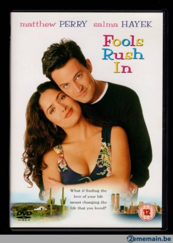 FOOLS RUSH IN Matthew Perry Salma Hayek - NEW DVD FREE POST mmoetwil@hotmail.com