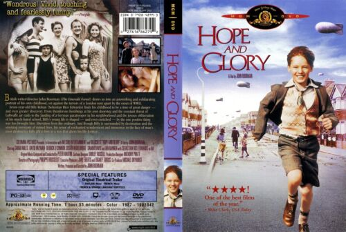 HOPE AND GLORY a film from John Boorman - NEW DVD FREE POST mmoetwil@hotmail.com