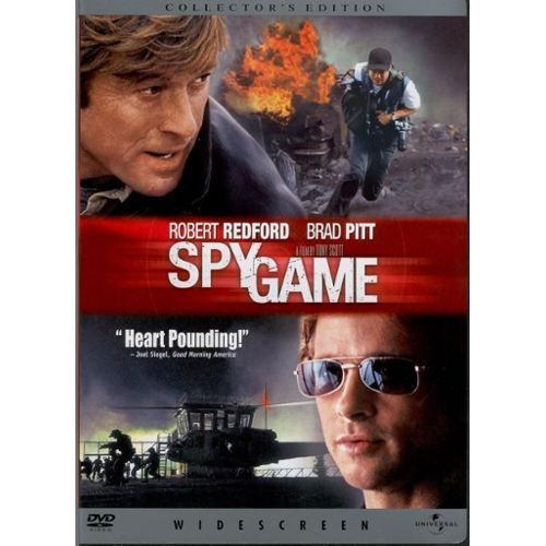 SPYGAME with Robert Redford and Brad Pitt NEW DVD FREE POST mmoetwil@hotmail.com