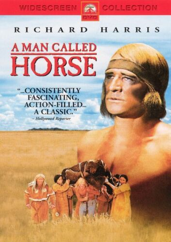 A MAN CALLED HORSE with Richard Harris - NEW DVD FREE POST mmoetwil@hotmail.com