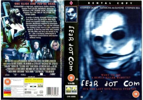 FEAR DOT COM with Stephen Dorff - NEW DVD - FREE POST - mmoetwil@hotmail.com