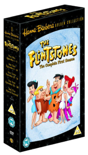 THE FLINTSTONES Golden Collection - NEW 4 DVD - FREE POST - mmoetwil@hotmail.com