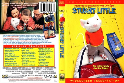 """STUART LITTLE co-director """"Lion King"""" NEW DVD - FREE POST - mmoetwil@hotmail.com"""